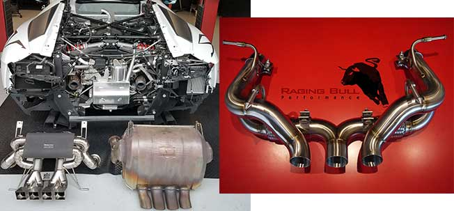 cusotm exhaust system